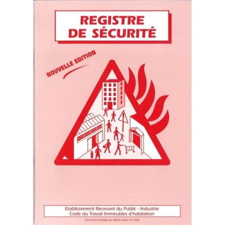 REGISTRE DE SECURITE